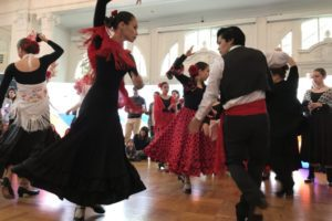 Dancers at the Spanish Cultural Center at the 2017 E.U. Open House.