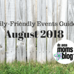 August 2018 Family-Friendly Events Guide