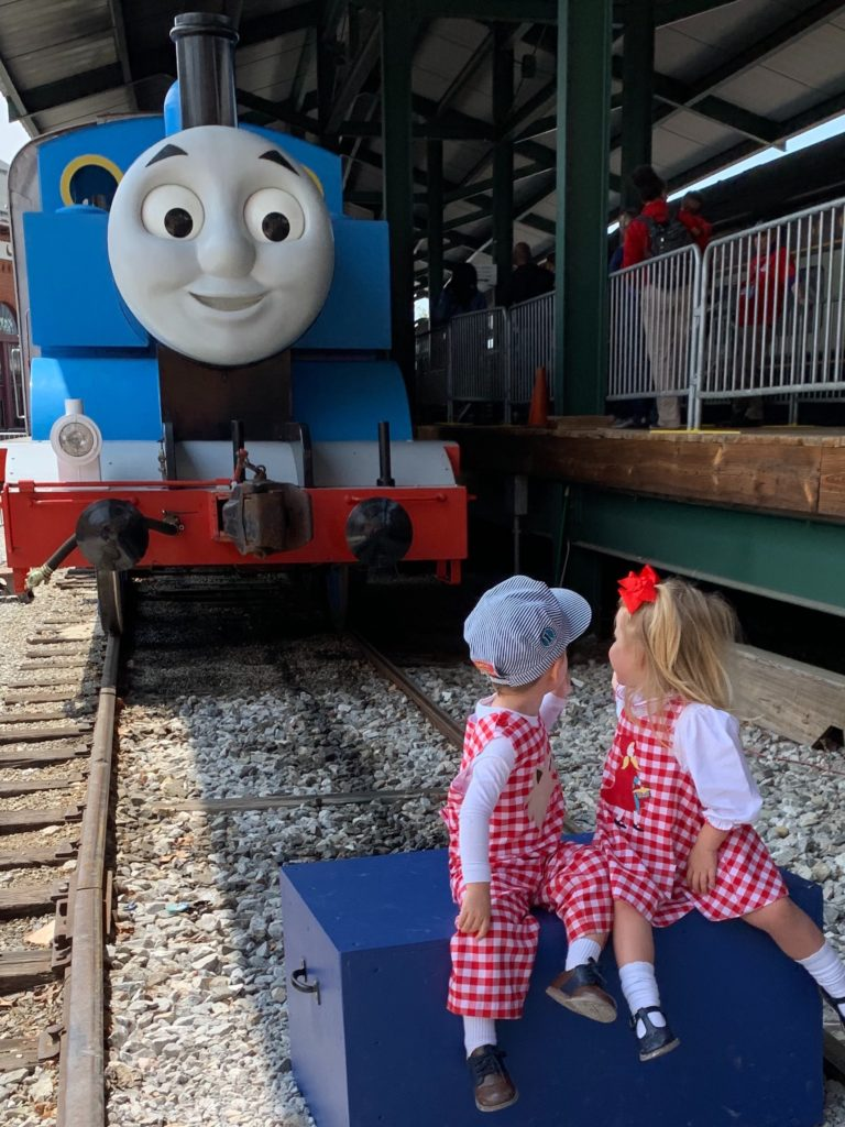 B&O Railroad Day Out with Thomas Twins in Awe