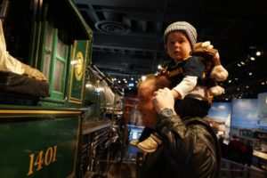 Train at Smithsonian Museum