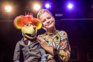8/21/18 3:49:12 PM   Darci Lynne Farmer, Ventriloquist  Tara Staton, Hair and Makeup Sophie Paolino, Isabelle Paolino Assistant.  ©†Todd Rosenberg Photography 2018