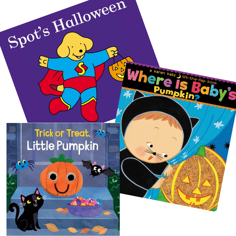 The Best Halloween Books for Toddlers - board books