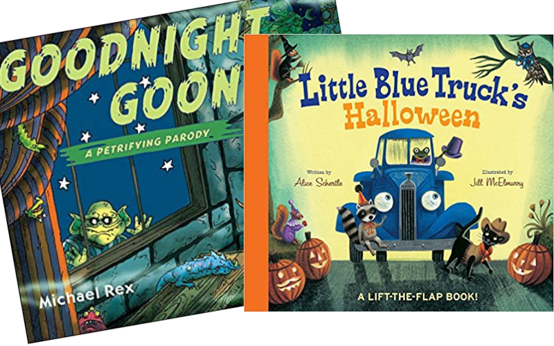 The Best Halloween Books for Toddlers - board books 2