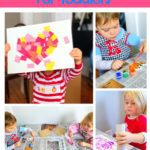 5 EASY Valentine's Day Crafts for Toddlers