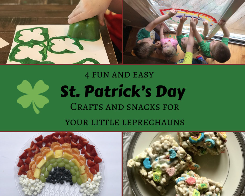 Easy And Fun St Patrick S Day Crafts And Snacks For Kids
