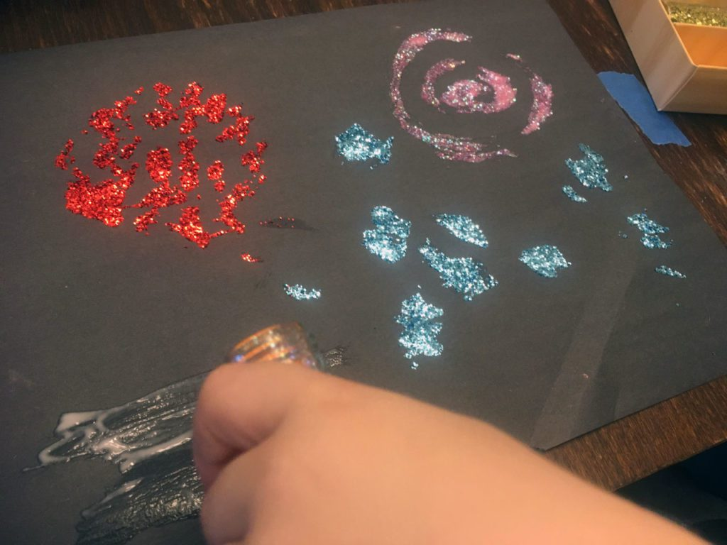 Fireworks Art Projects