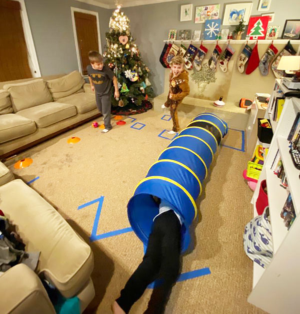 kids obstacle course