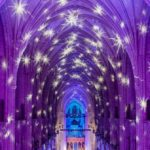 Experience the National Cathedral's Holiday Light Spectacular