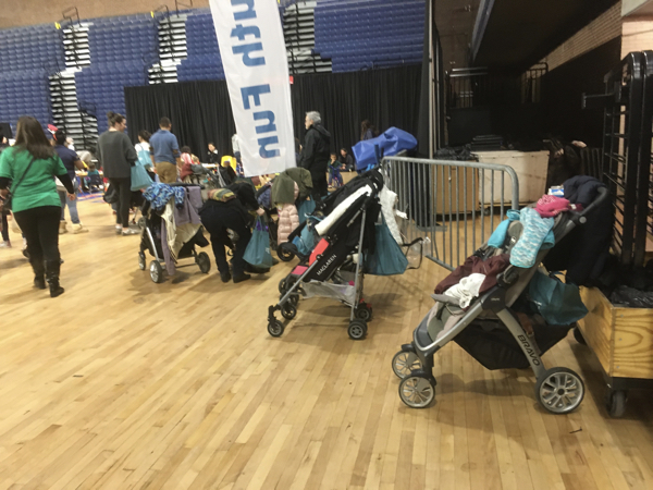 Strollers at EdFest 2019