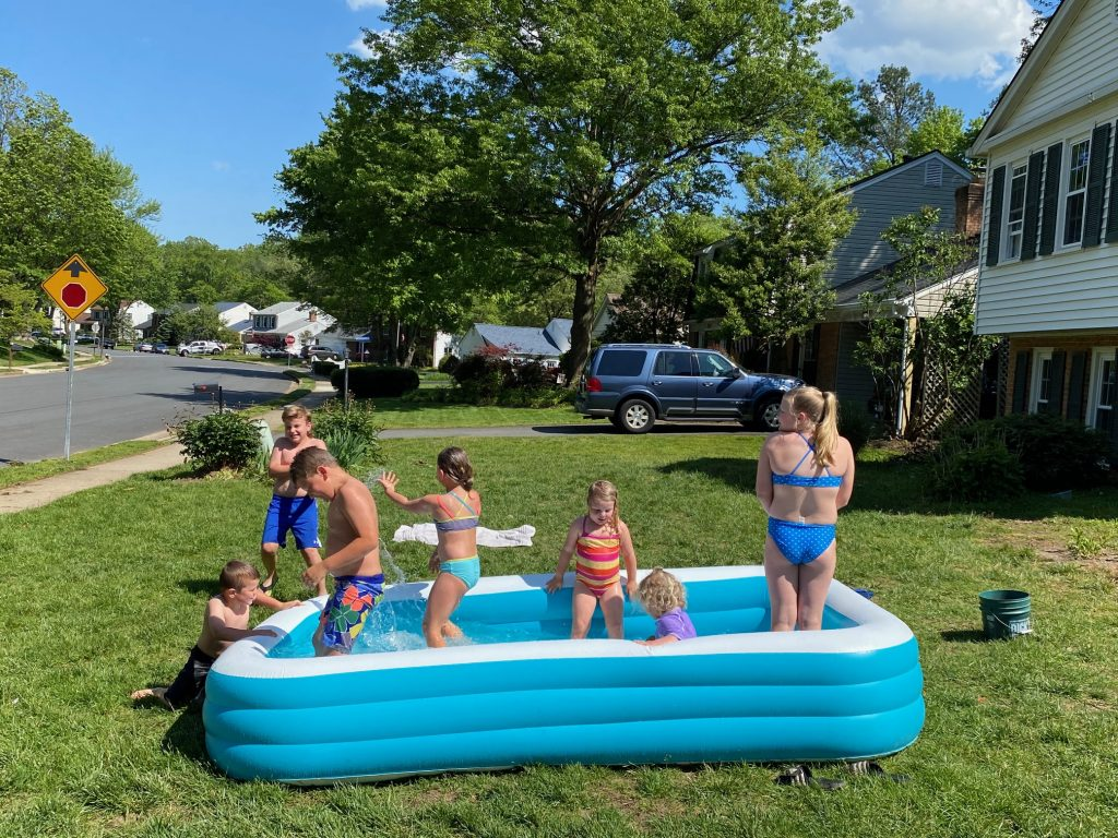 quarantine summer water fun