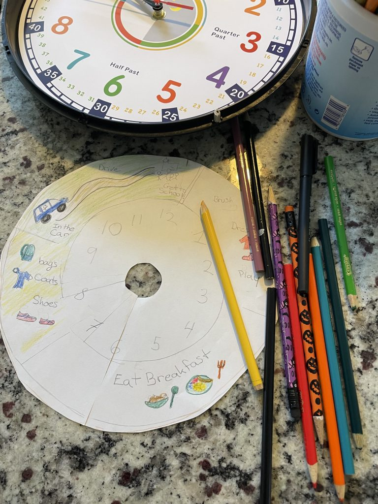 This DIY clock could help with your morning routine